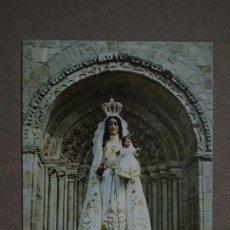Postales: POSTAL Nº 5083 BETANZOS - LA CORUÑA - IMAGEN DE SANTA MARIA DEL AZOGUE COPATRONA. Lote 66473698