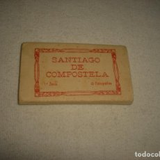 Postales: SANTIAGO DE COMPOSTELA, PRIMERA SERIE 15 FOTOGRAFIAS. ROISIN, ACORDEON PEQUEÑAS DIMENSIONES.. Lote 66840118