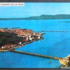 Postales: (46812)POSTAL ESCRITA,ISLA DE LA TOJA/ILLA DA TOXA,O GROVE (PONTEVEDRA),GALICIA. Lote 67004830