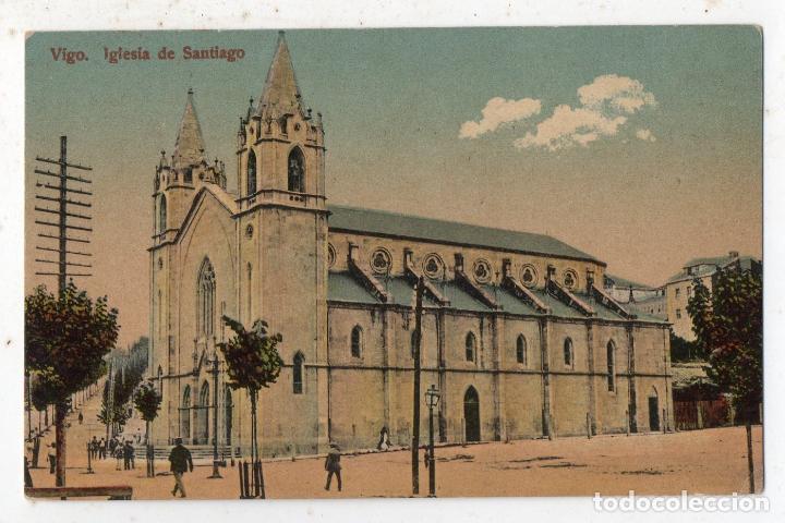 VIGO. IGLESIA DE SANTIAGO. (Postales - España - Galicia Antigua (hasta 1939))