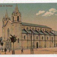 Postales: VIGO. IGLESIA DE SANTIAGO.. Lote 67317889