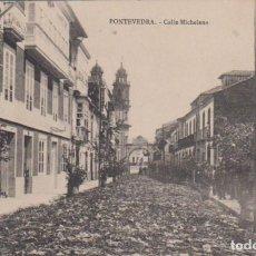 Postales: PONTEVEDRA - CALLE MICHELENA. Lote 68186941
