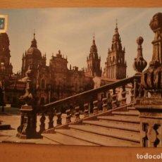 Postales: POSTAL SANTIAGO DE COMPOSTELA,CATEDRAL. Lote 68335917