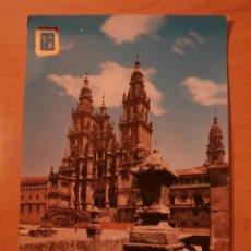 Postales: POSTAL SANTIAGO DE COMPOSTELA,CATEDRAL. Lote 68336177