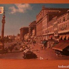 Postales: POSTAL DE LA CORUÑA,PASEO DE LOS CANTONES. Lote 68338617