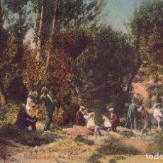 Postales: RRR POSTAL AGUAS CABREIROA 1910 PASATIEMPOS DE AGUISTAS - ERNESTO VERIN - ORENSE - OURENSE - GALICIA. Lote 68439865