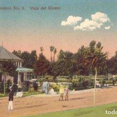 Postales: RRR POSTAL AGUAS CABREIROA 1910 VISTA DEL KIOSKO - ERNESTO VERIN - ORENSE - OURENSE - GALICIA. Lote 68440669