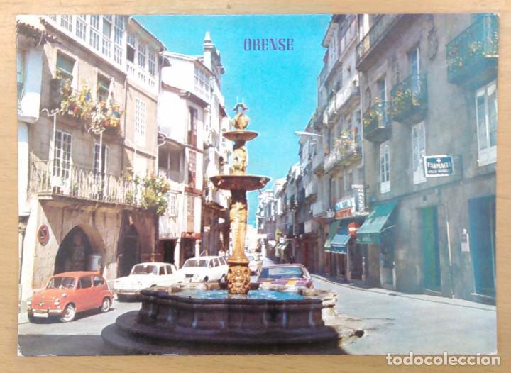 ORENSE - PLAZA DE HIERRO (Postales - España - Galicia Moderna (desde 1940))