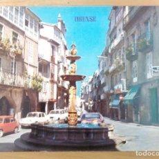 Postales: ORENSE - PLAZA DE HIERRO. Lote 68445265