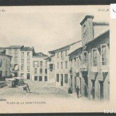 Postales: RIBADEO - 3 -PLAZA DE LA CONSTITUCION - COLECCION RIA EO -VER REVERSO SIN DIVIDIR - (ZG-45.612). Lote 68489509