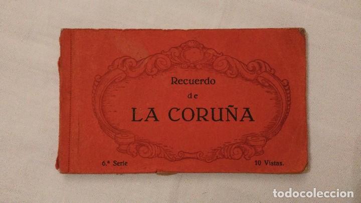 Postales: Libros 10 postales Recuerdo de La Coruña - Heliotipia de Kallmeyer y Gautier; 2ª y 6ª series; 45€/ud - Foto 2 - 68791065