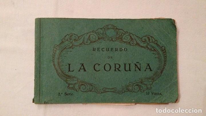 Postales: Libros 10 postales Recuerdo de La Coruña - Heliotipia de Kallmeyer y Gautier; 2ª y 6ª series; 45€/ud - Foto 3 - 68791065