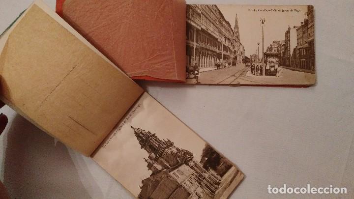 Postales: Libros 10 postales Recuerdo de La Coruña - Heliotipia de Kallmeyer y Gautier; 2ª y 6ª series; 45€/ud - Foto 4 - 68791065