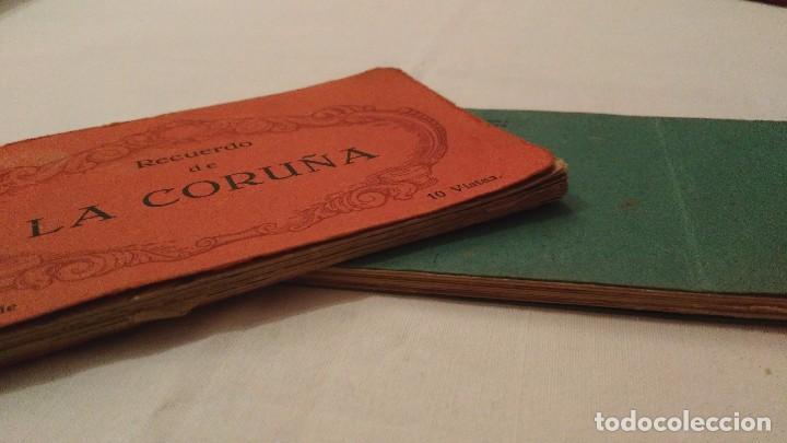 Postales: Libros 10 postales Recuerdo de La Coruña - Heliotipia de Kallmeyer y Gautier; 2ª y 6ª series; 45€/ud - Foto 5 - 68791065