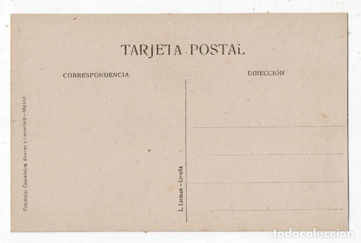 Postales: La Coruña. Jardines de Méndez Núñez, Estanque y Monumento a Concepción Arenal. - Foto 2 - 70063841