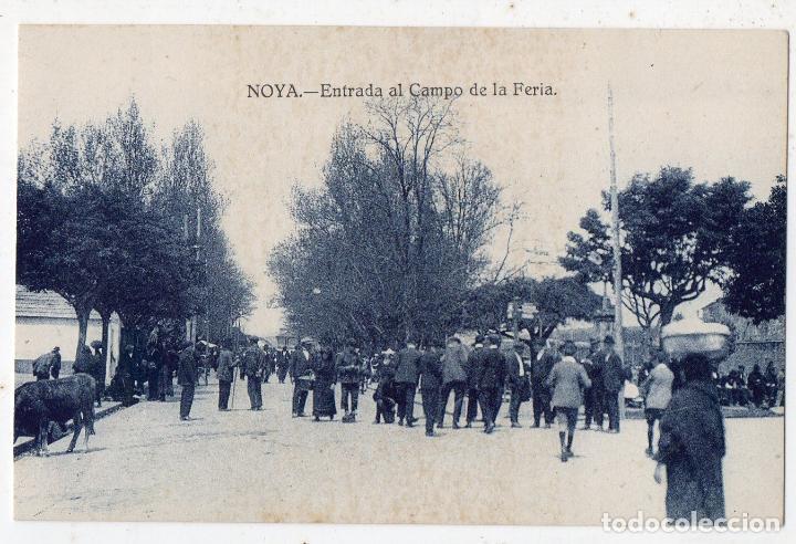 NOYA. ENTRADA AL CAMPO DE LA FERIA. (Postales - España - Galicia Antigua (hasta 1939))