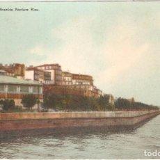 Postales: VIGO AVENIDA MONTERO RIOS. Lote 56126609
