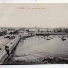 Postales: LA CORUÑA. VISTA PARCIAL DEL PUERTO.. Lote 71165249