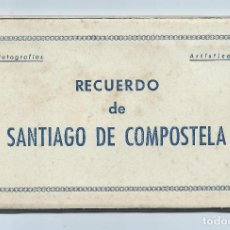 Postales: ÁLBUM DESPLEGABLE. 10 FOTOGRAFÍAS ARTÍSTICAS. RECUERDO DE SANTIAGO DE COMPOSTELA. EDICIONES ARRIBAS.. Lote 71524479
