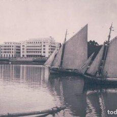 Postales: POSTAL DE LA TOJA, PONTEVEDRA Nº 503. GRAN HOTEL. FOTO BLANCO. Lote 71637879