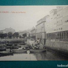Postales: POSTAL - ESPAÑA - CORUÑA - CALLE DE LA MARINA - EDICIÓN E. COMAS . Lote 71837991
