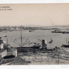 Postales: LA CORUÑA. MUELLE DE FARÁS.. Lote 72362599