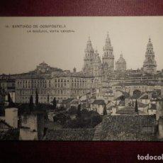 Postales: POSTAL - ESPAÑA - 15.- SANTIAGO DE COMPOSTELA - BASÍLICA - VISTA GENERAL - SIN EDITOR - NC - 1915. Lote 73432335