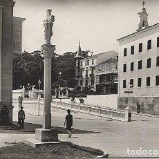 Postales: X116325 GALICIA LA CORUNA EL FERROL IGLESIA DE SAN ROQUE Y CRUCERO. Lote 73981691