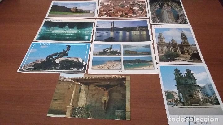 LOTE DE 10 POSTALES DE GALICIA (Postales - España - Galicia Moderna (desde 1940))
