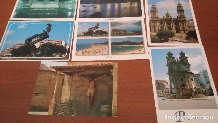 Postales: Lote de 10 postales de Galicia - Foto 3 - 74317263