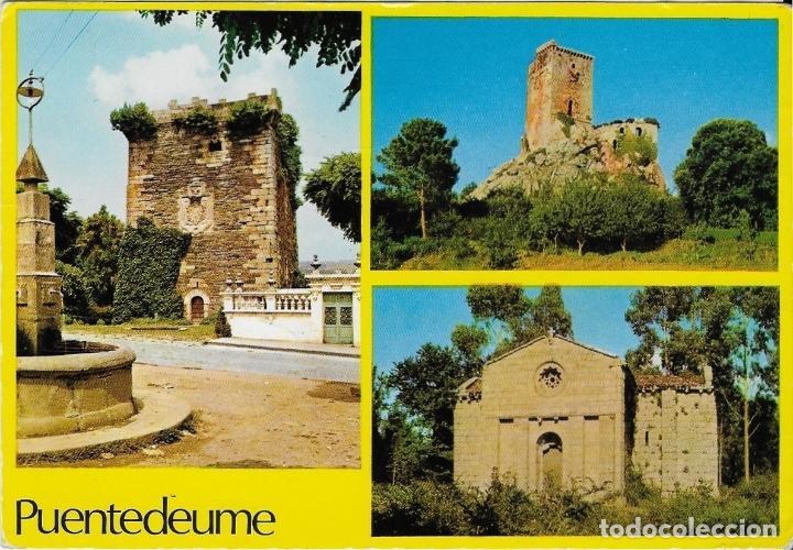 PONTEDEUME - AÑO 1969 - ESCRITA (Postales - España - Galicia Moderna (desde 1940))