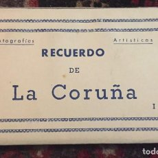 Postales: 10 POSTALES RECUERDO DE CORUÑA. Lote 74720735