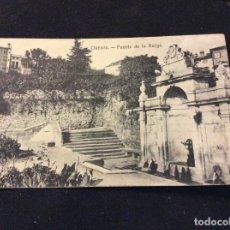 Postales: FUENTE DE LA BURGA. HAE, SIN CIRCULAR. Lote 74879503