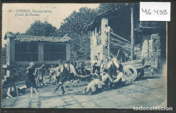 ORENSE -20 - ESCENA TIPICA - CORO DA RUADA - VER FOTOS -(46.438) (Postales - España - Galicia Antigua (hasta 1939))