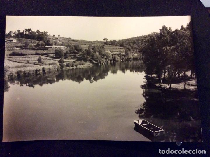 PONTEVEDRA, PAISAJE DEL RIO LEREZ, SIN CIRCULAR (Postales - España - Galicia Moderna (desde 1940))