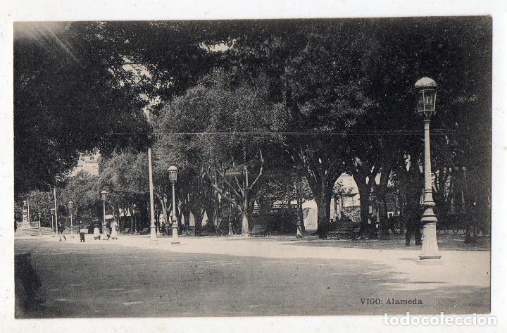 VIGO. LA ALAMEDA. (Postales - España - Galicia Antigua (hasta 1939))