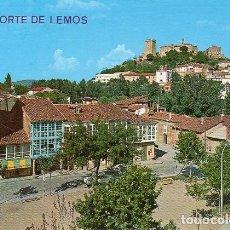 Postales: MONFORTE DE LEMOS - 36 VISTA PARCIAL. Lote 76591815