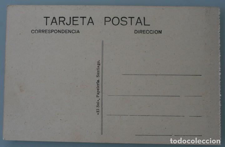 Postales: 12 RARAS ANTIGUAS TARJETAS POSTALES BLANCO NEGRO SEPIA SANTIAGO COMPOSTELA CORUÑA – EL SOL PAPELERIA - Foto 14 - 77068197