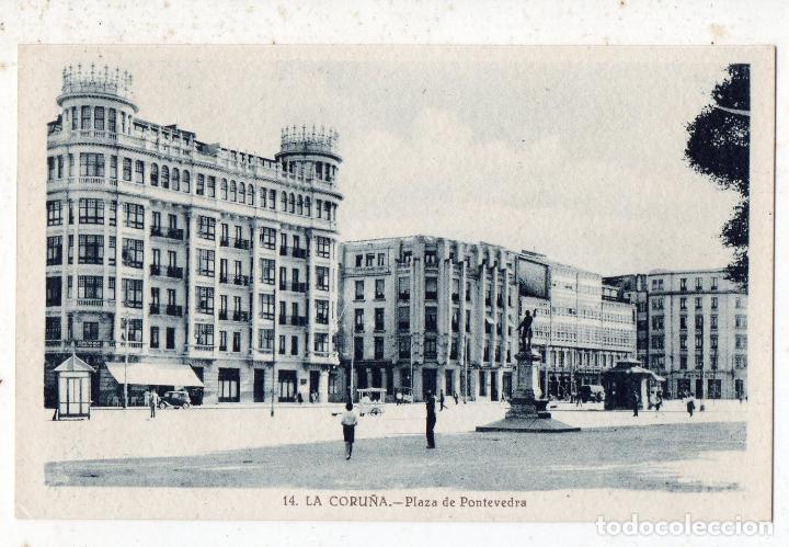 LA CORUÑA. PLAZA DE PONTEVEDRA. (Postales - España - Galicia Antigua (hasta 1939))