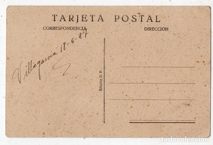 Postales: Villagarcia de Arosa. Red Telefónica y Calle de la Estación. - Foto 2 - 80216273