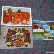 Postales: LOTE DE 3 POSTALES DE GALICIA. PENÍNSULA DE MORRAZO.. Lote 80395333