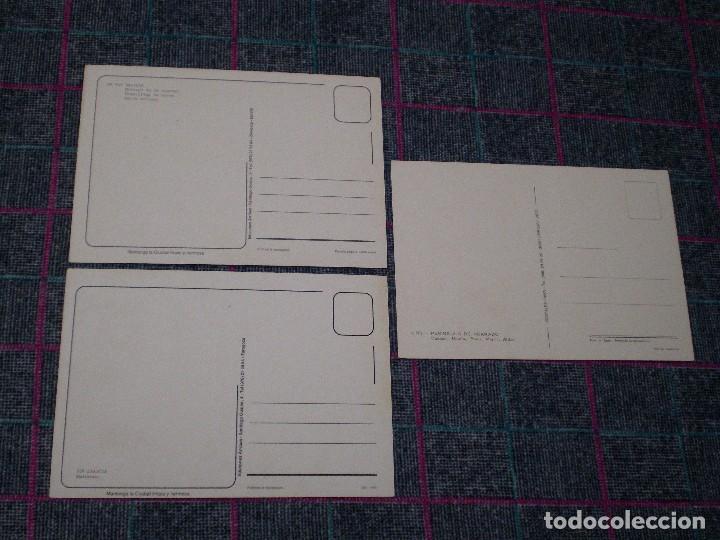Postales: Lote de 3 postales de Galicia. Península de Morrazo. - Foto 2 - 80395333