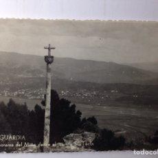 Postales: LA GUARDIA MIÑO DESDE EL TECLA. Lote 80495422