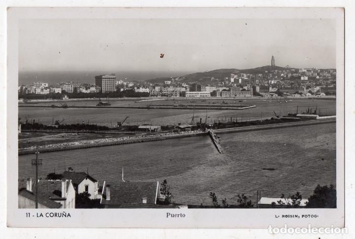 LA CORUÑA. EL PUERTO. (Postales - España - Galicia Antigua (hasta 1939))