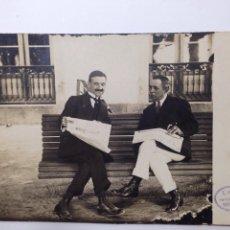 Postales: POSTAL RARA DE MONDARIZ 1915, ESCRITA POR WALDO RIVA PARDO FOTÓGRAFO. Lote 81930391