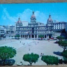Postales: LA CORUÑA - PLAZA DE MARIA PITA. Lote 82632528