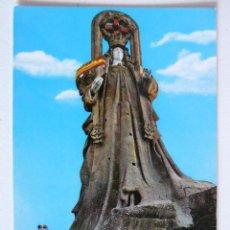 Postales: POSTAL BAYONA LA REAL (PONTEVEDRA) - VIRGEN DE LA ROCA - POSTALES FAMA Nº 3.055. Lote 83055632