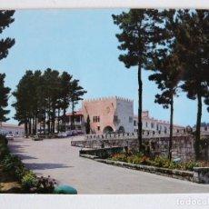 Postales: POSTAL BAYONA LA REAL (PONTEVEDRA) - PARADOR NACIONAL CONDE DE GONDOMAR - FAMA Nº 3022. Lote 83058052