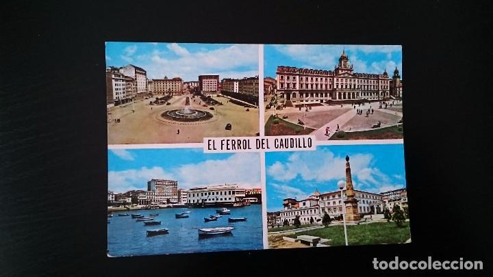 TARJETA POSTAL EL FERROL DEL CAUDILLO 175 - EDICIONES PARIS - NO ESCRITA NO CIRCULADA (Postales - España - Galicia Moderna (desde 1940))