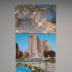 Postales: LOTE DE 3 POSTALES DE LA CORUÑA.. Lote 83597112